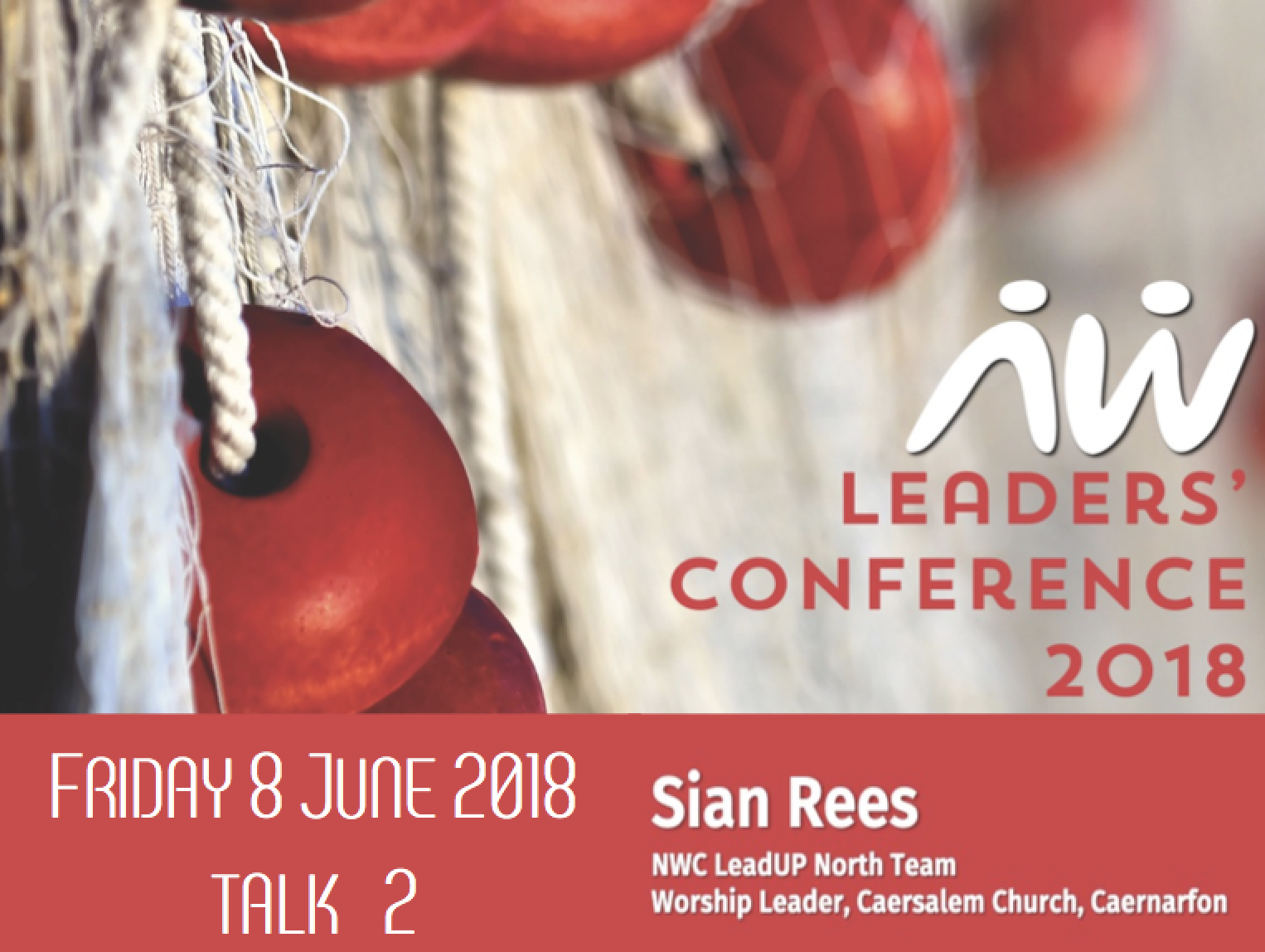 Leaders' Conference 18: Sian Rees talk