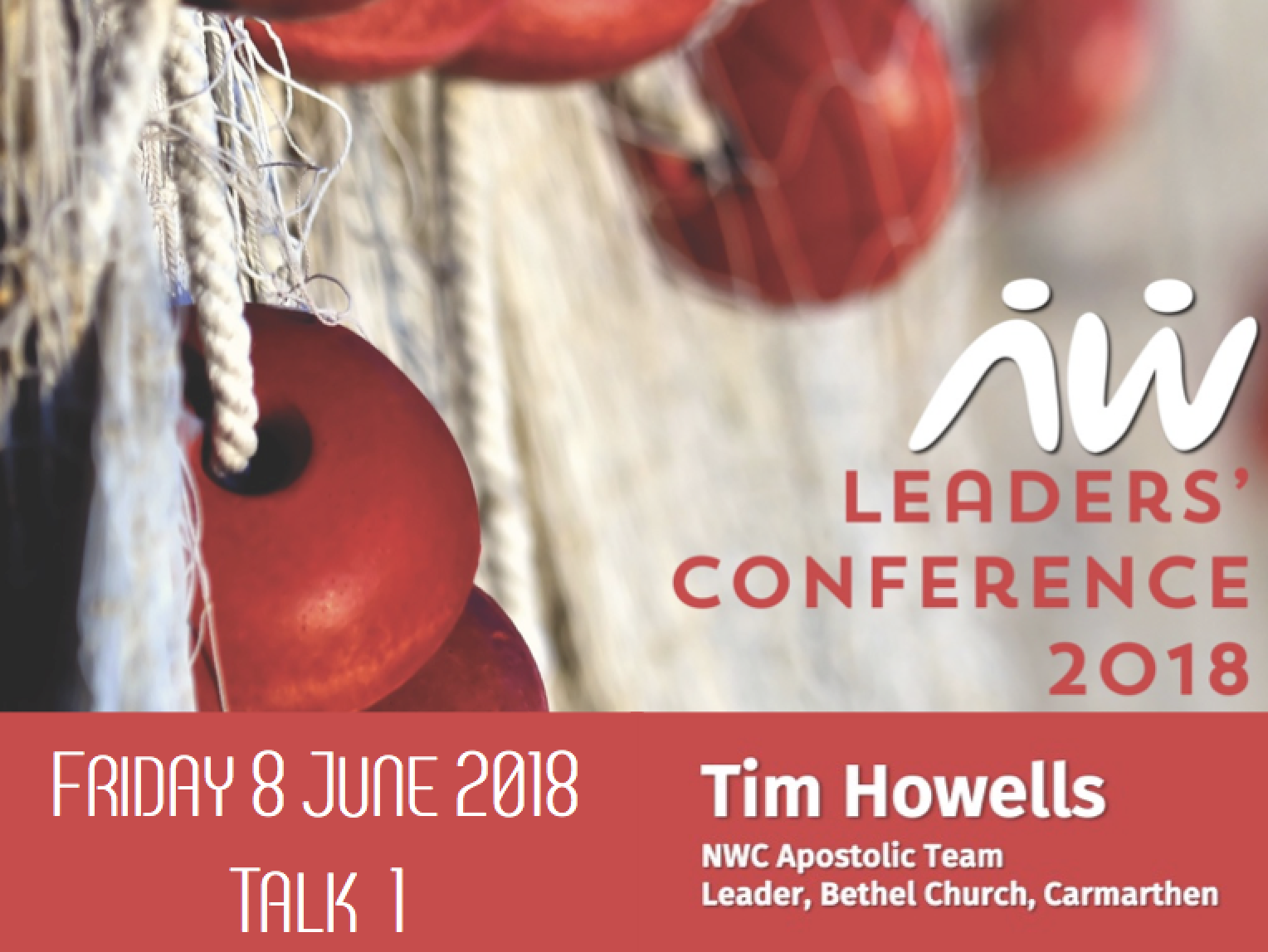 Leaders' Conference 18: Tim Howells talk